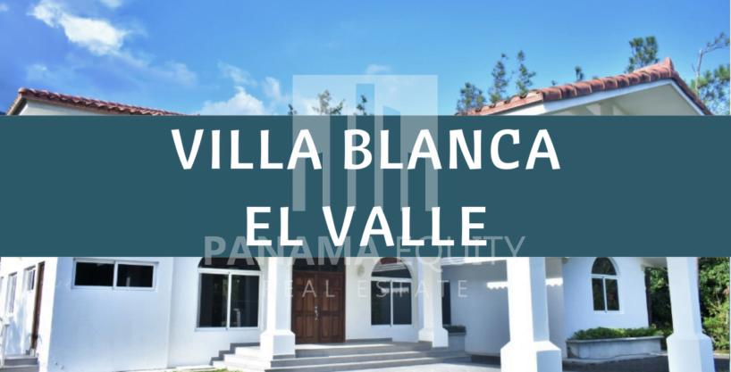Villa Blanca in El Valle de Antón