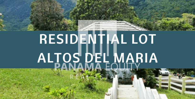 Residential Lot In Altos del Maria With Cool temperatures
