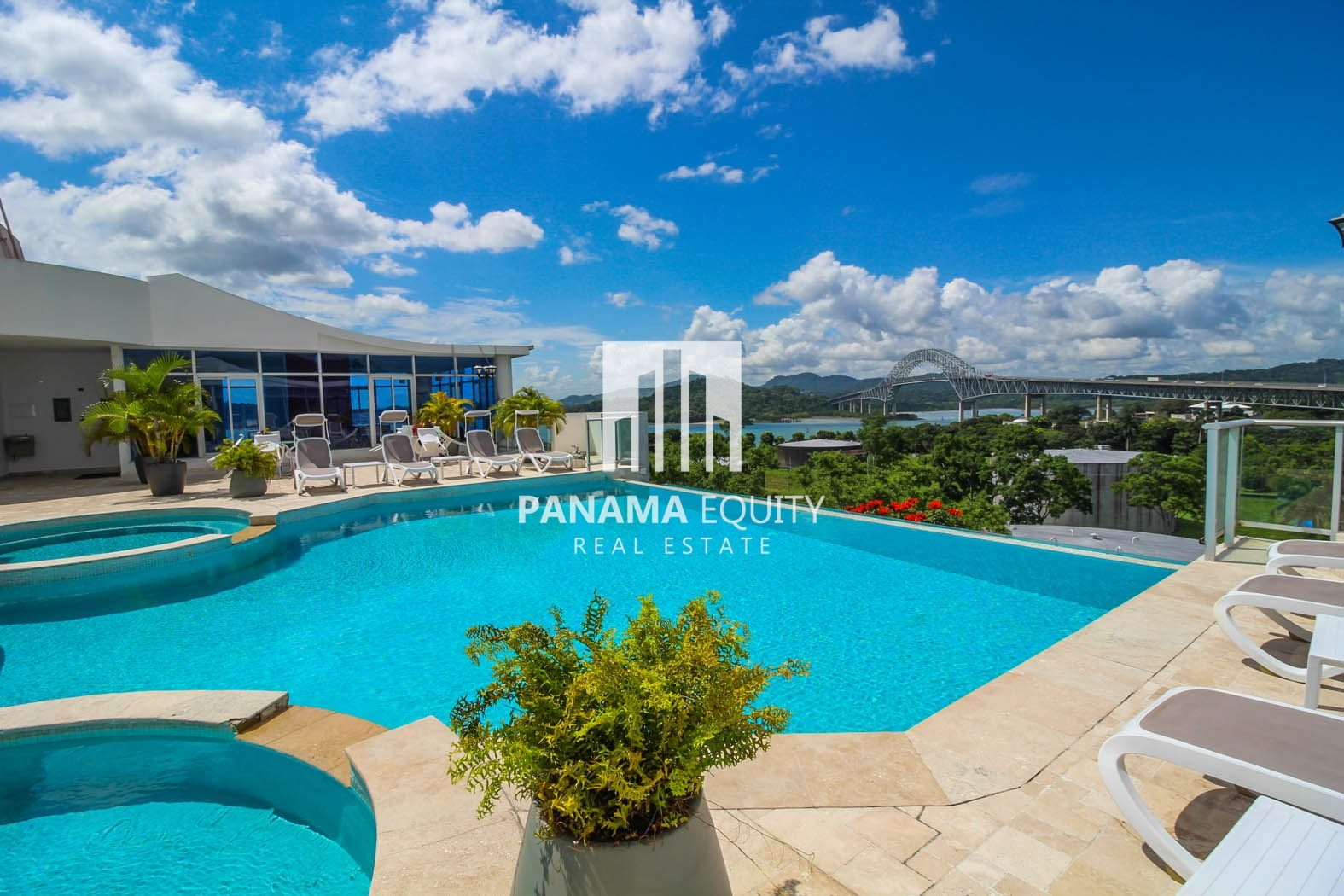 Stunning Views Of The Bridge + Pacific on this partially furnished apartment for rent in Amador