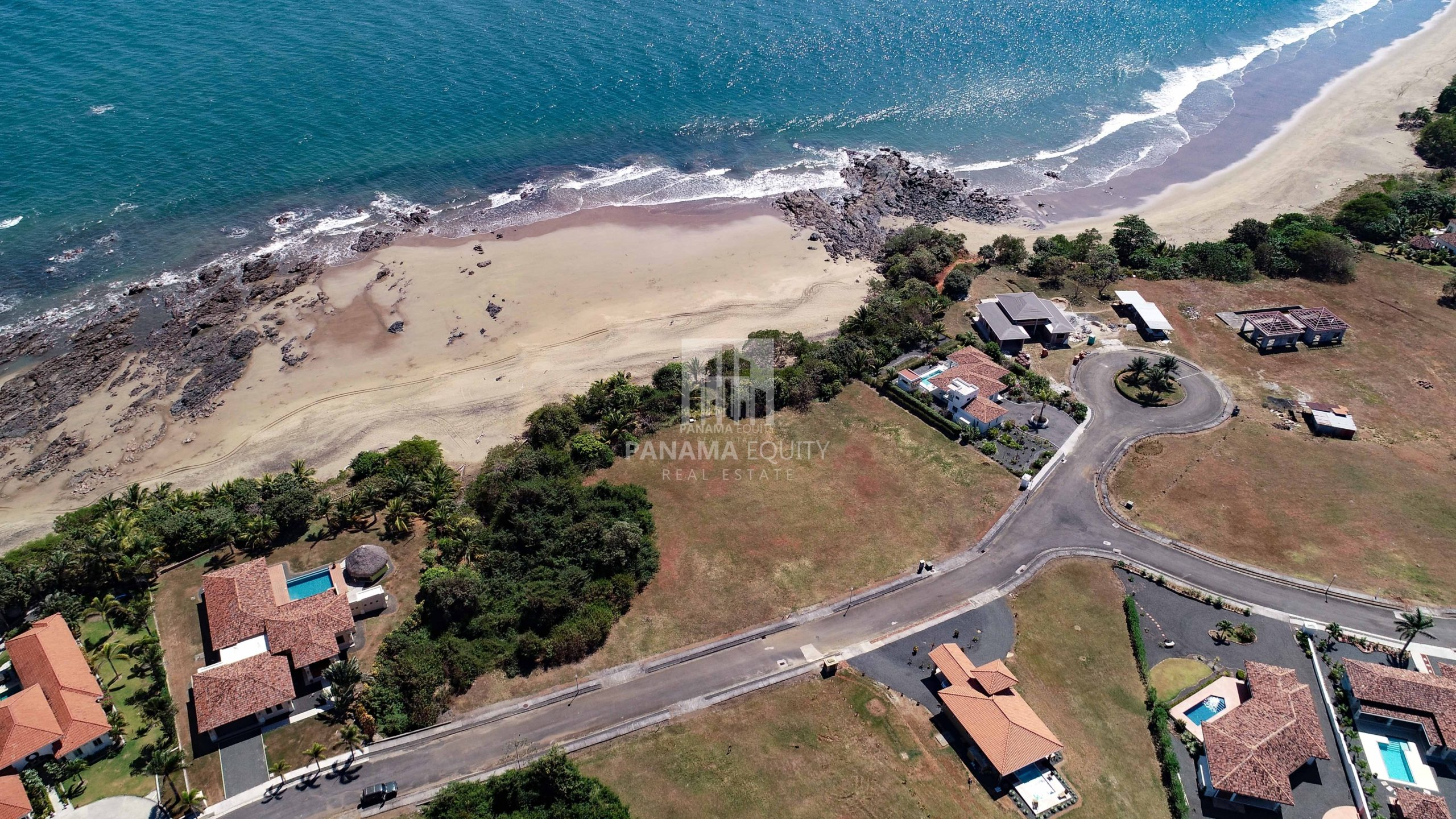 Pedasi Beachfront Home Site For Sale In Gated Community