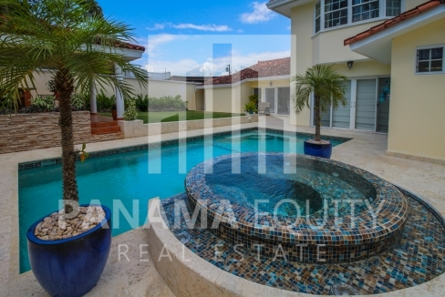 Altos del Golf Panama Family-Friendly Home For Sale with Private Pool
