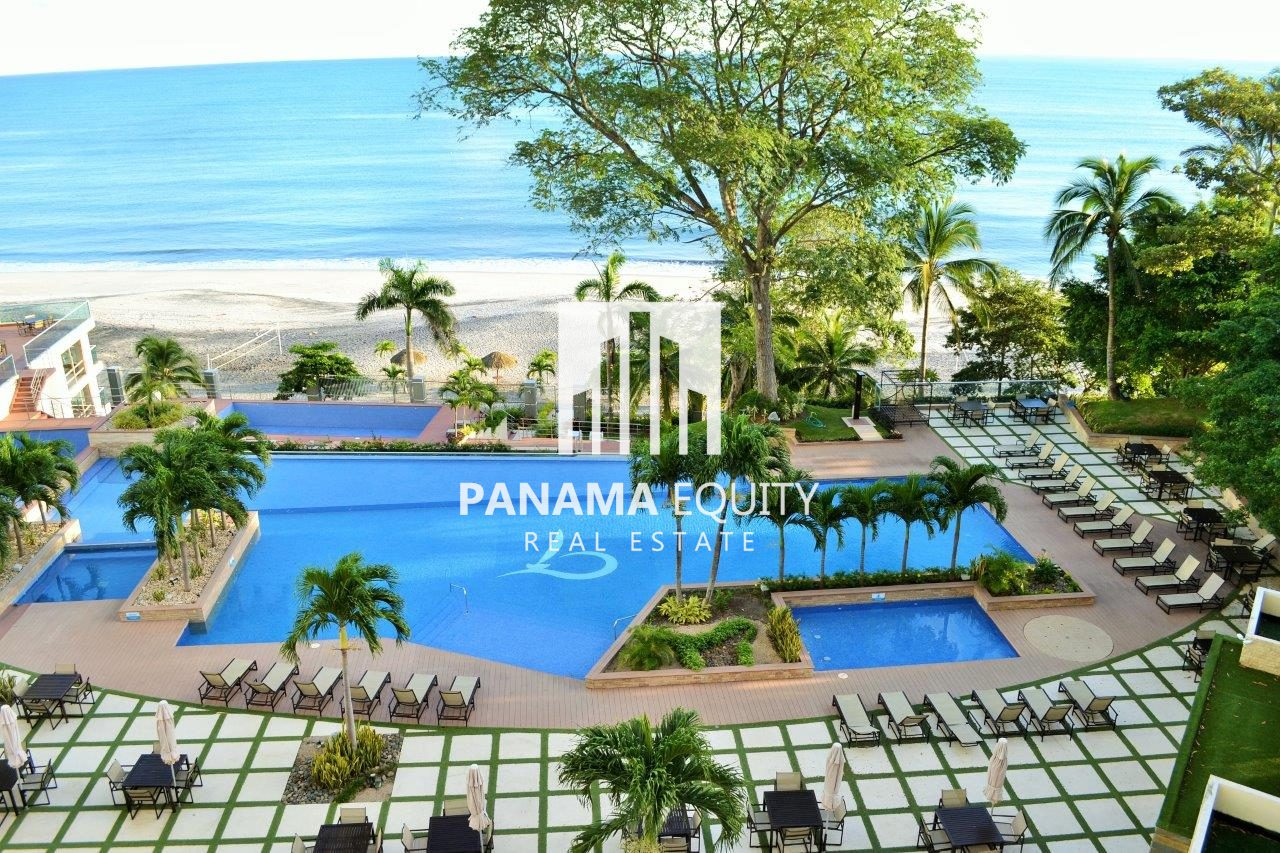 Turn Key Beach Front Condo in Gorgona – High Floor –