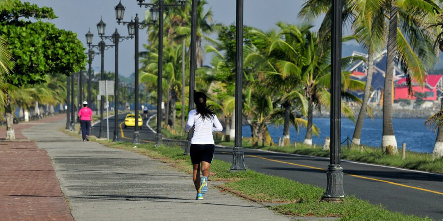 Get Active on Cinta Costera Panama