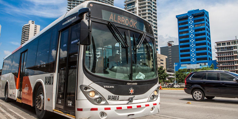 Metrobus in Panama City Panama