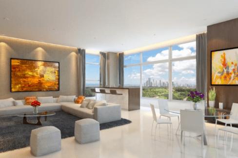 Santa Maria Panama apartment city for sale