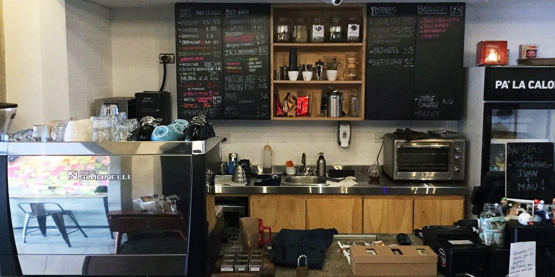 Coffee at Mentiritas Blancas Panama
