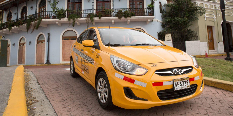 Taxi in Panama City Panama