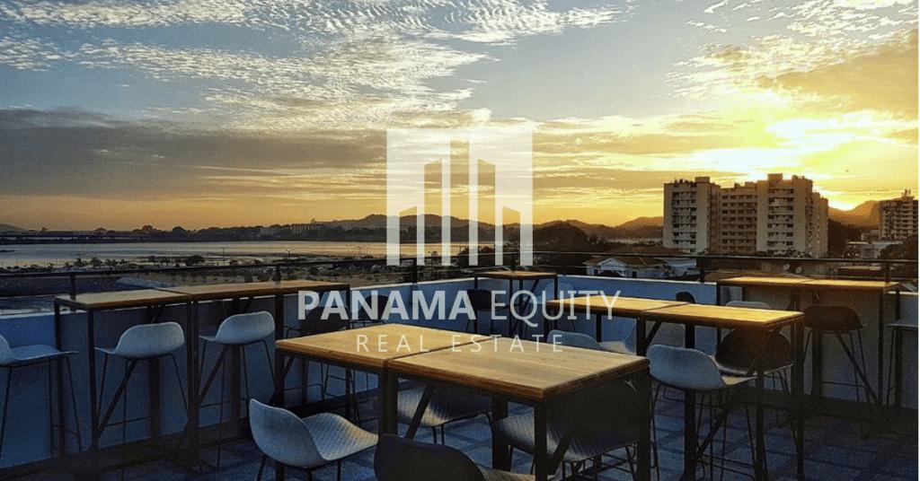 V piso rooftop and mirador panama