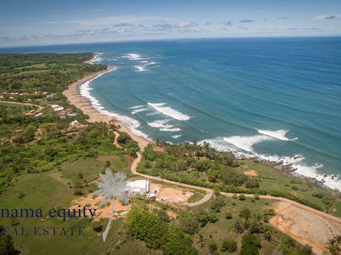 Beautiful ocean view site situated in Los Destiladeros, Pedasí.