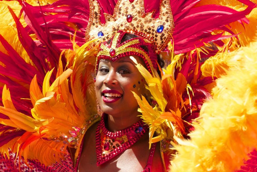 carnival panama dancer