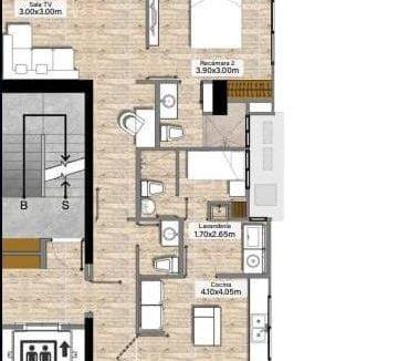 Floor Plan 2 recamara