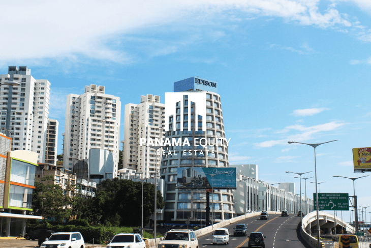 The Marbella neighborhood of Panama City.