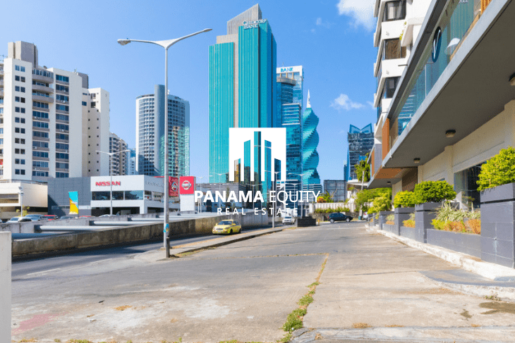 Obarrio, one of the more popular neighborhoods in Panama City.