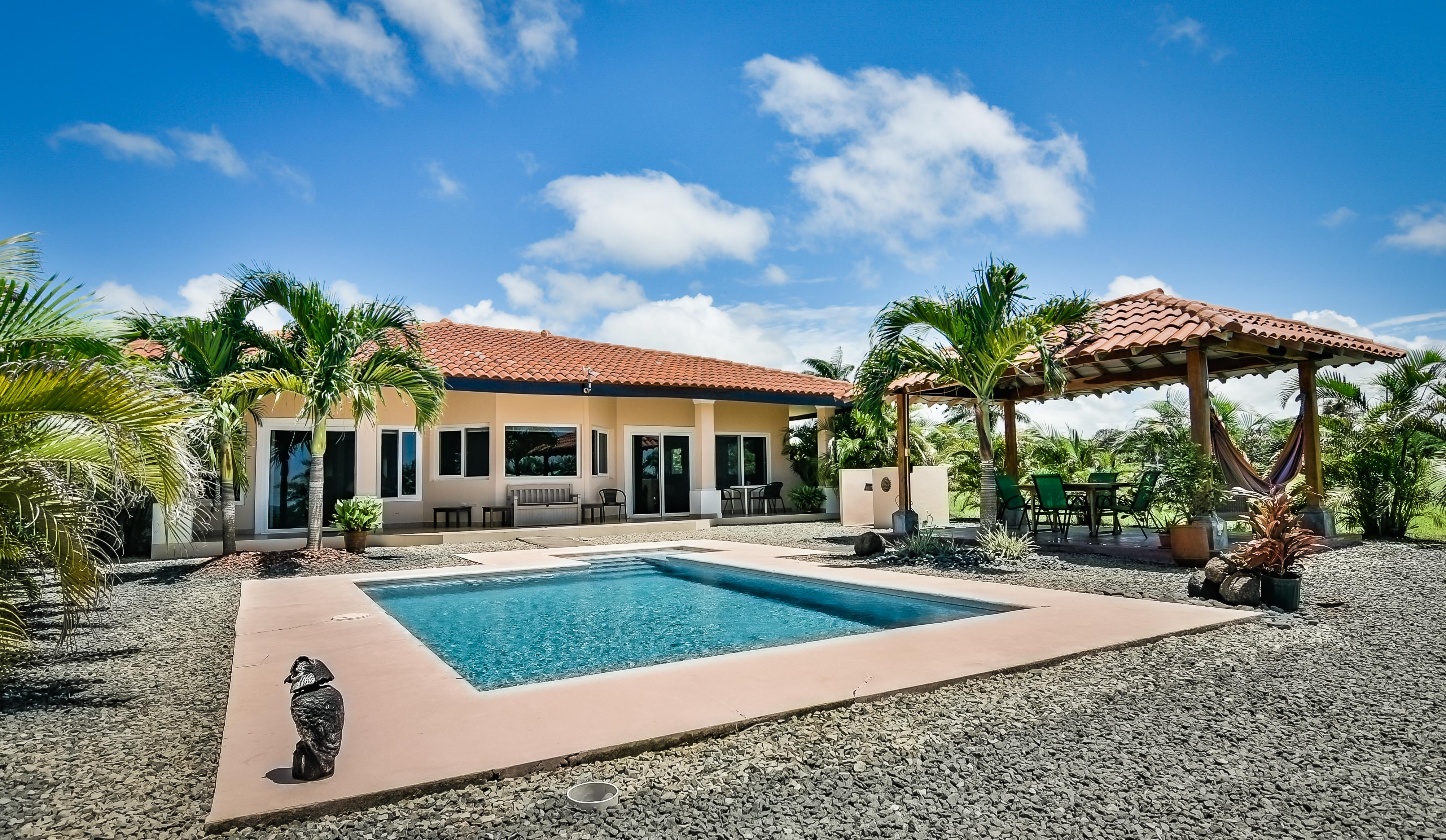 Turnkey ocean view home in Pedasi gated community
