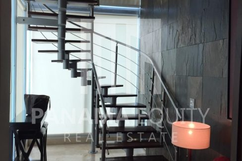Loft-441-punta-pacifica-rental-stairs