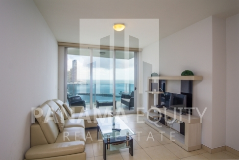 White Avenida Balboa Panama Apartment for Sale-19