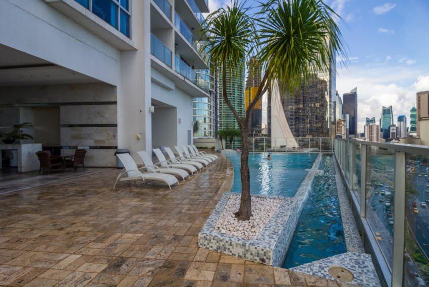 White Avenida Balboa Panama Apartment for Sale-27