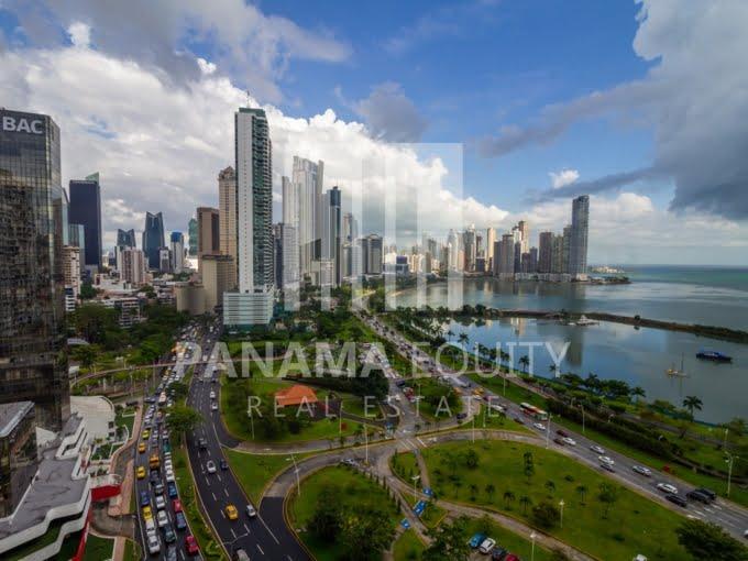 White Avenida Balboa Panama Apartment for Sale