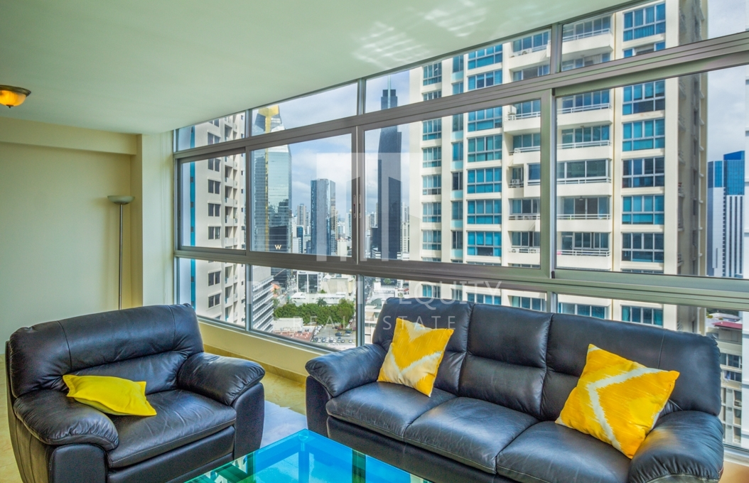 Bayfront Avenida Balboa Panama Apartment for Rent-001