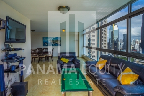 Bayfront Avenida Balboa Panama Apartment for Rent-002