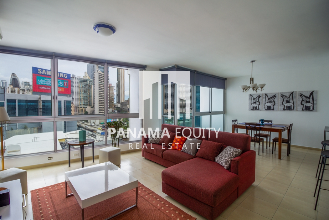 Feel at home in this Furnished One bedroom Apartment for Rent in Grand Bay Avenida Balboa