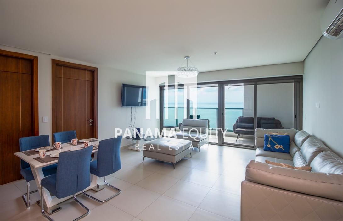 Two-Bedroom Ocean View Apartment in Costa del Este