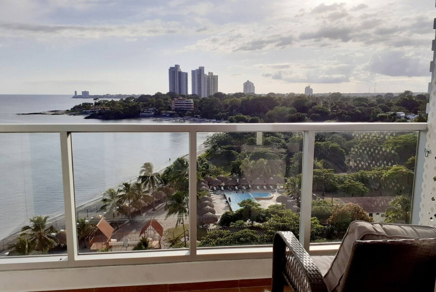 Gorgona Panama Beach Apartment for rent