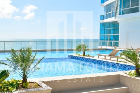 Panama Beach Apartment for rent in Gorgona's Royal Palm Building