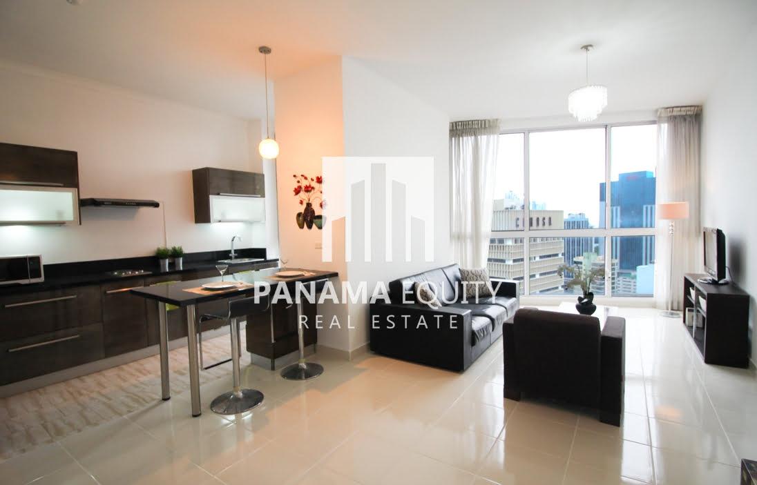 El mejor precio: Apartamento de Una Recámara Amueblado en Alquiler en Denovo Obarrio
