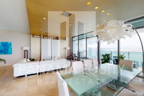 Three-Bedroom Ocean Front Condo for sale in Grand Tower Panama for sale