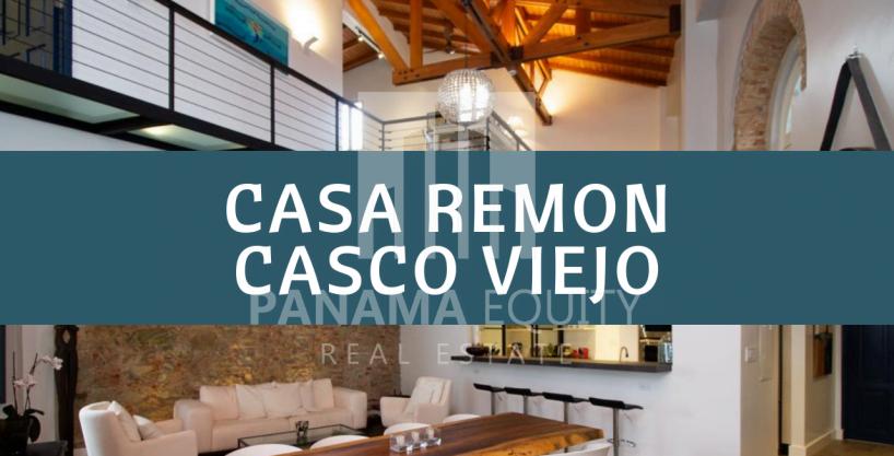 Se renta impresionante apartamento de 260 M2 Casco Histórico . Casa Remon