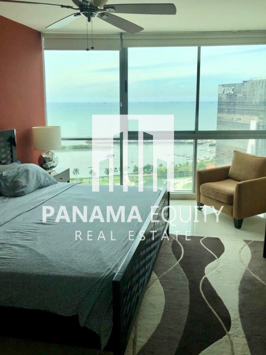 One Bedroom Furnished Apartment in Allure for Rent with Ocean and Park Views
