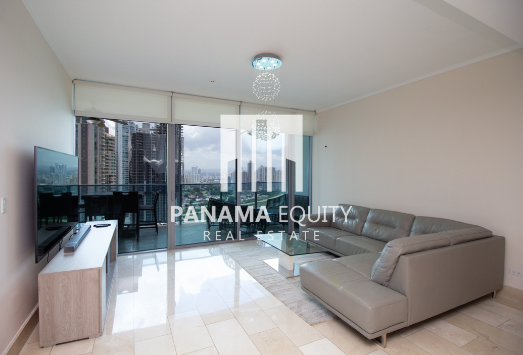 Beautiful High Floor Furnished Apartment for Rent in Grand Tower Punta Pacifica