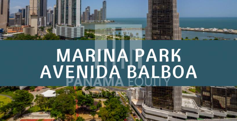 Apartamento de Tres Recámaras en Alquiler en Marina Park Avenida Balboa con Increíbles Vistas