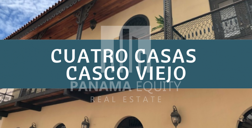 Vistas de 360 ° del Casco Viejo desde PH 4 Casas Apartamento en venta