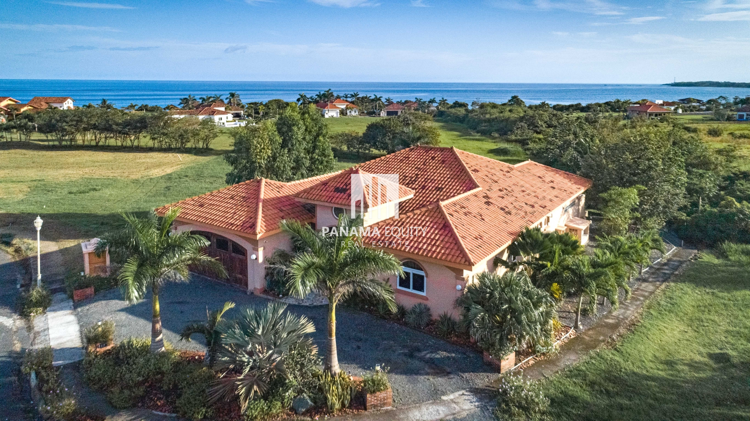 Luxury Custom Home in Pedasi Area Beachfront Community