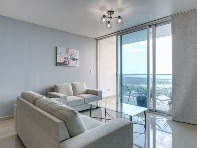 Icon Tower 2 Bedroom ocean view condo for sale in Coco del Mar