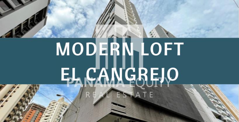 Beautiful Modern Loft For Sale in El Cangrejo