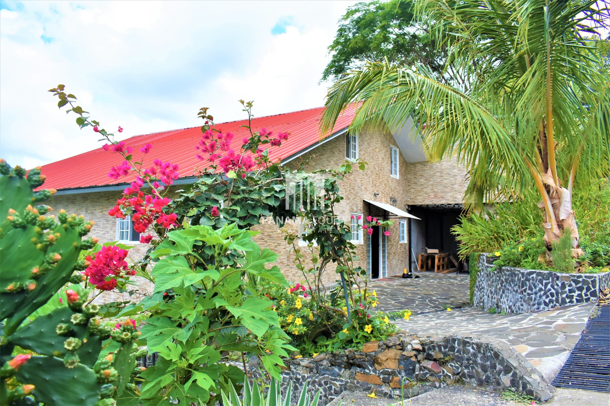 European Styled Panama Mountain Home For Sale With Detached Apartment