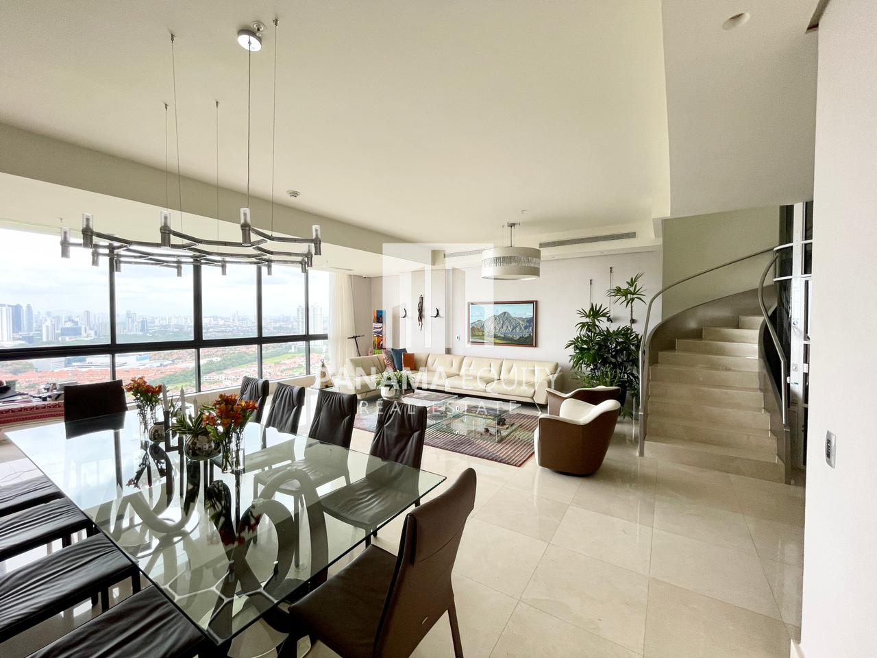 Two Story Panama Penthouse Condo For Sale
