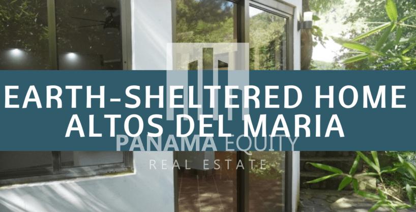 Única casa protegida en la tierra a la venta en Altos del Maria