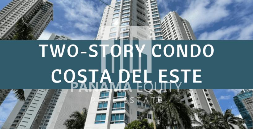 2 Story Condo for Rent in Costa del Este