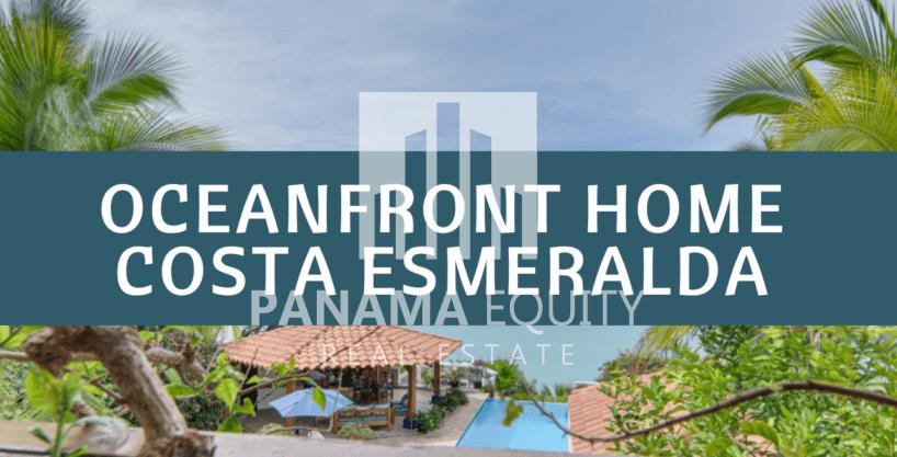 Casa frente al mar en una tranquila comunidad de Costa Esmeralda