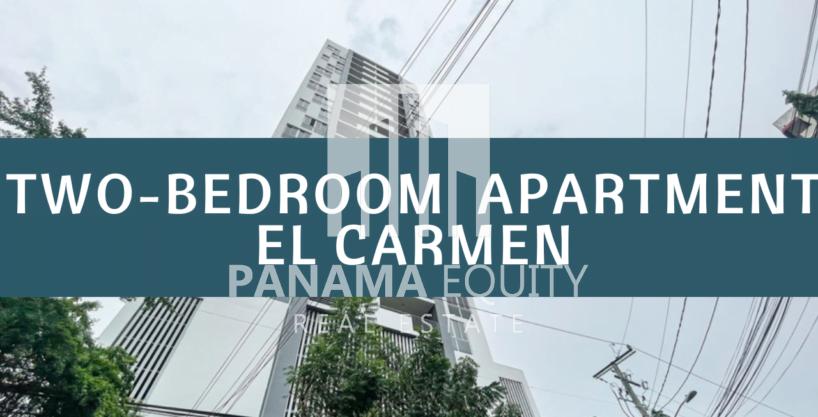 Apartamento de Dos Recámaras en alquiler Con Línea Blanca en Scala, El Carmen