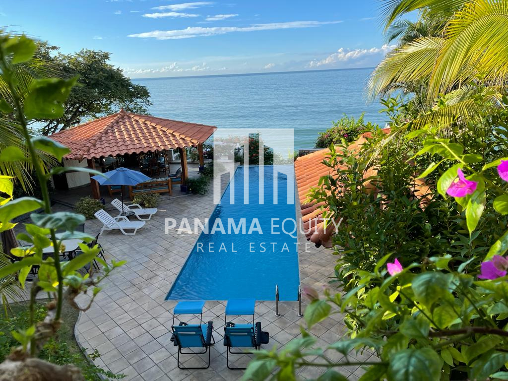 Oceanfront Home For Sale in the Gated Community of Costa Esmeralda