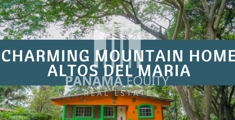 Charming Panama Mountain Home For Sale in Altos del Maria