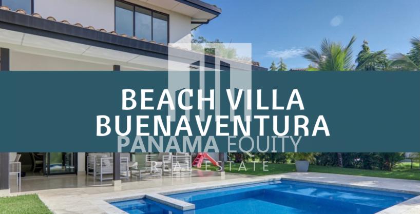 Stellar Beach Villa en el campo de golf de Buenaventura