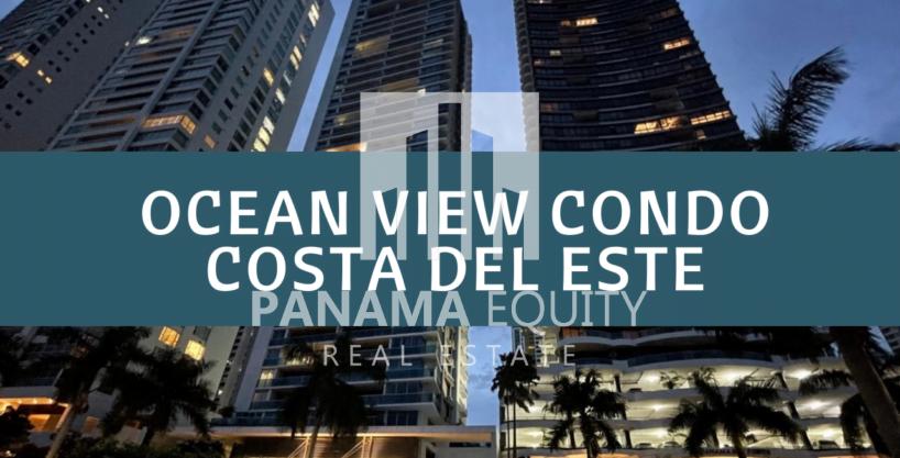 Bayside Condo For Sale Means Ocean Views From Costa del Este, Panama