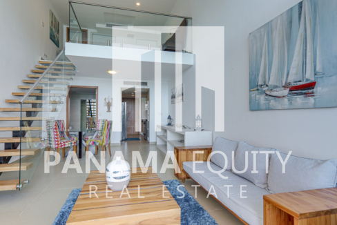Spacious and Bright Furnished Loft Apartment For Rent in PH Naos Causeway Amador(10)