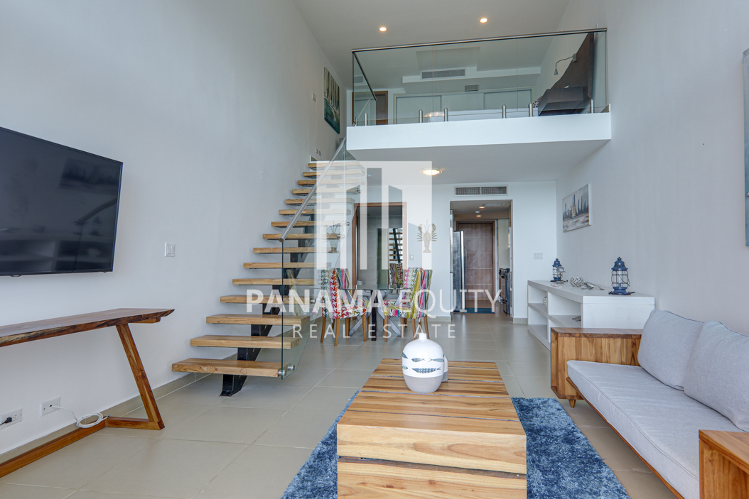Spacious and Bright Furnished Loft Apartment For Rent in PH Naos Causeway Amador(4)